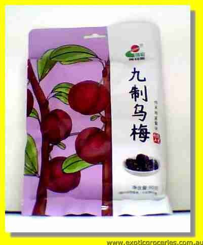 Preserved Jiuzhi Black Plum