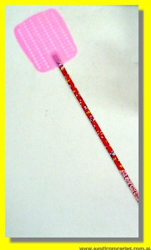 Plastic Fly Swat (Long Handle)
