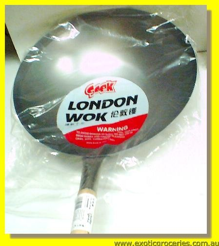 London Wok with Handle 16""