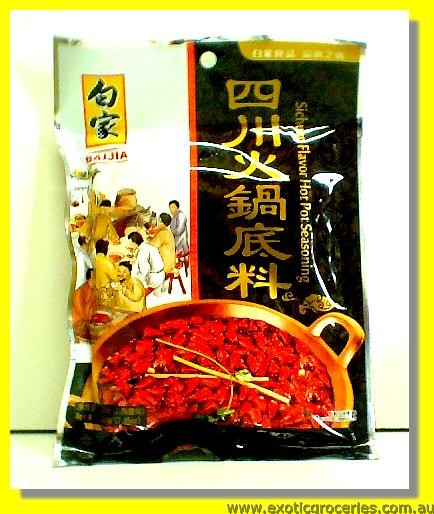 Sichuan Hot Pot Seasoning (Med Hot)