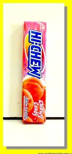 Hi-Chew Peach Flavour Chewy Candy