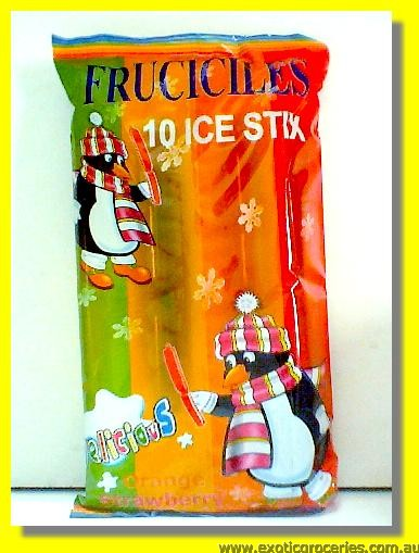 Assorted Fruit Flavour Ice Stix 10pcs