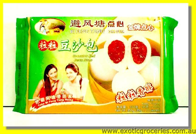 Granular Red Bean Buns 10pcs