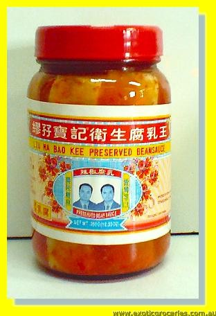 Preserved Bean Sauce with Chilli