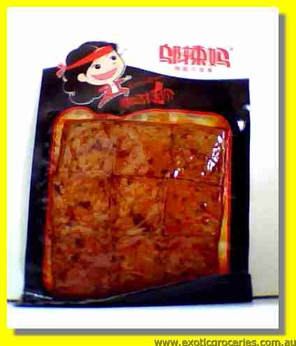 Dried Beancurd Spicy Flavour