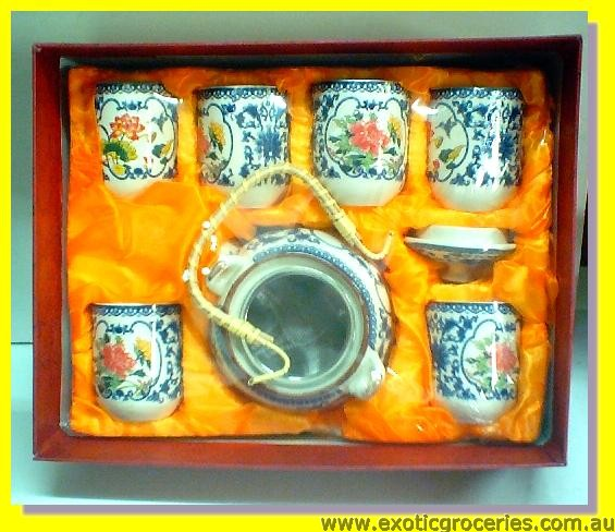 7pcs Tea Set H304