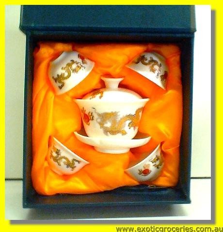 Chinese Tea Cup Set 5pcs H618