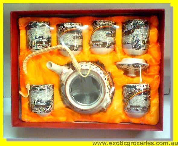 7pcs Tea Set H607