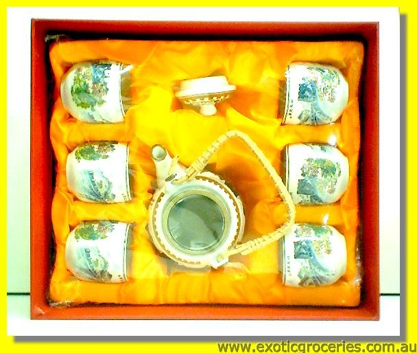 7pcs Tea Set H615