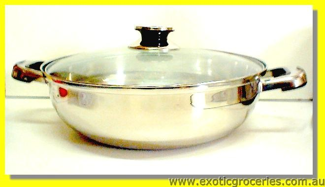 Stainless Steel Hot Pot 30cm