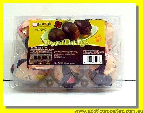 Preserved Duck Eggs 6pcs