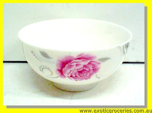 Ceramic Rose Bowl 4.5""