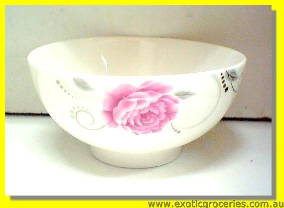Ceramic Rose Bowl 5""