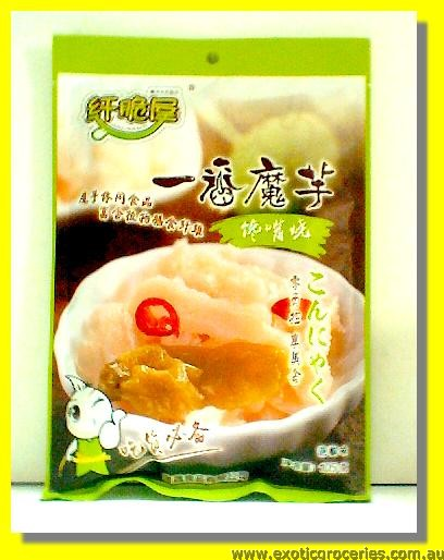 Pickled Chilli Flavoured Konjac Snack