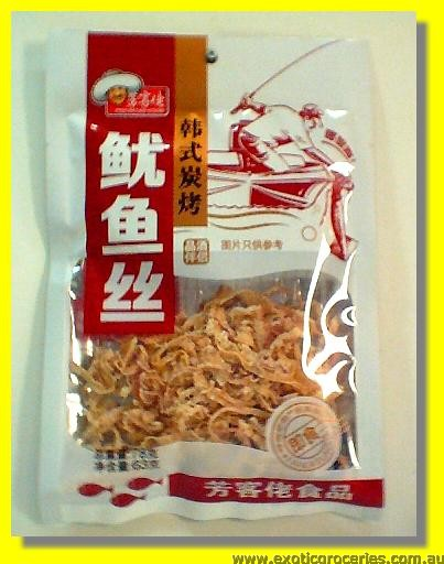 Korean Style Dried Shreeded Squid (Cuttle fish snack)