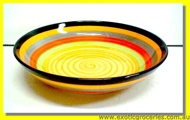 Colours Ceramic Dish 22cm