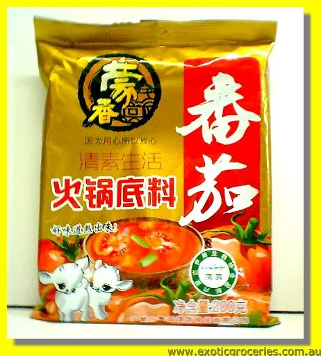 Tomato Flavour Hot Pot Soup Base