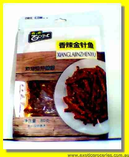 Toasted Spicy Anchovy (Xiang La Jin Zhen Yu)