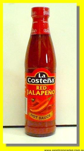 Red Jalapeno Hot Sauce