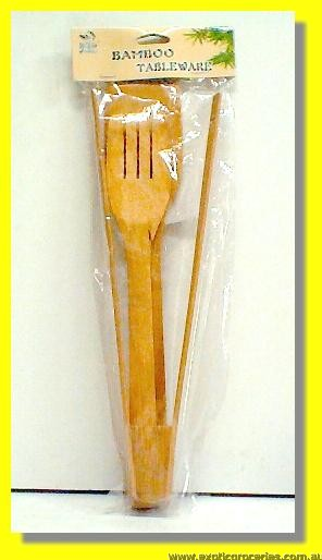 Bamboo Spatulas & Tongs