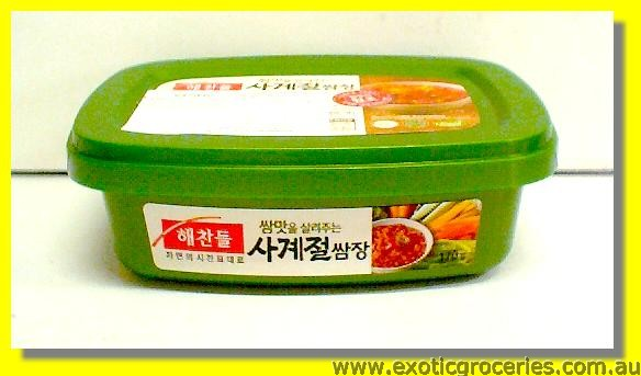 Seasoned Soybean Paste (Fermented Ssamjang)