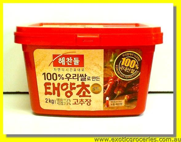 Korean Hot Pepper Paste Medium Hot (Gochujang)
