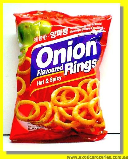 Onion Ring Hot & Spicy Flavoured