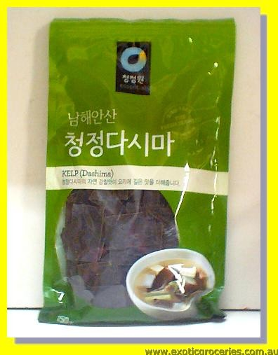 Dried Kelp Dashima