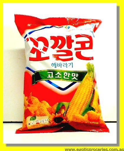 BBQ Corn Snack Red