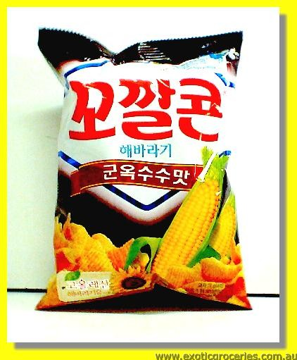 Corn Snack Brown