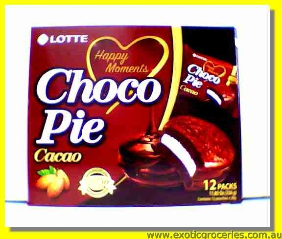 Choco Pie Cacao Flavour 12packs