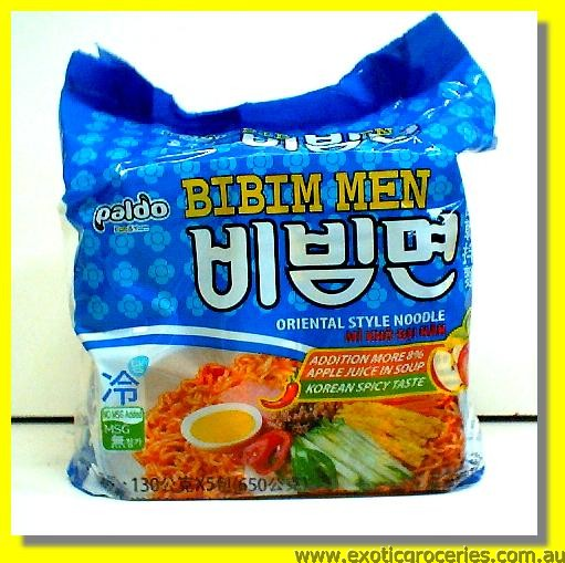 Bibim Men Korean Spicy Taste Noodle 5pkts