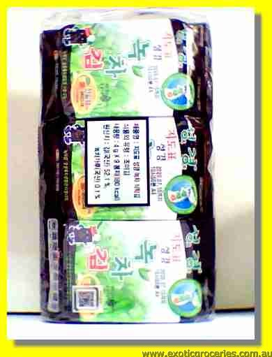 Seasoned Laver Seaweed Green Tea Flavour 9packs