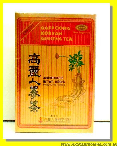 Korean Ginseng Tea 50sachets
