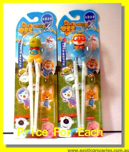 Chopsticks for Children (Green/Blue)