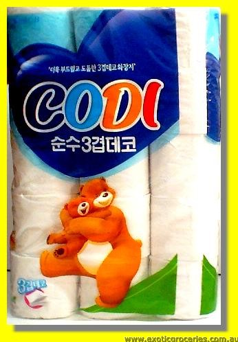 Toilet Rolls 30rolls  (Blue Bag)