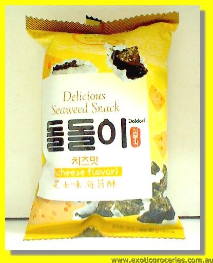 Delicious Seaweed Snack Cheese Flavour