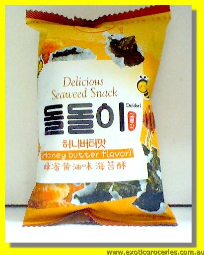 Delicious Seaweed Snack Honey Butter Flavour