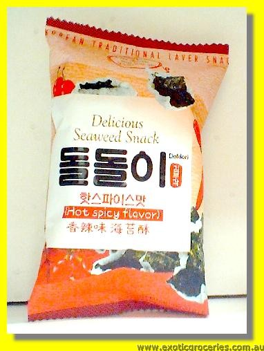 Delicious Seaweed Snack Hot & Spicy Flavour