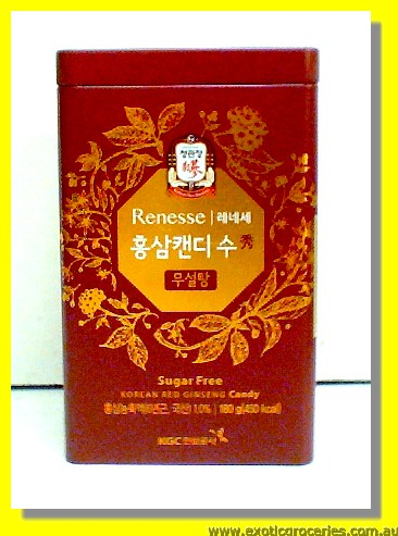 Korean Red Ginseng Candy Sugar Free