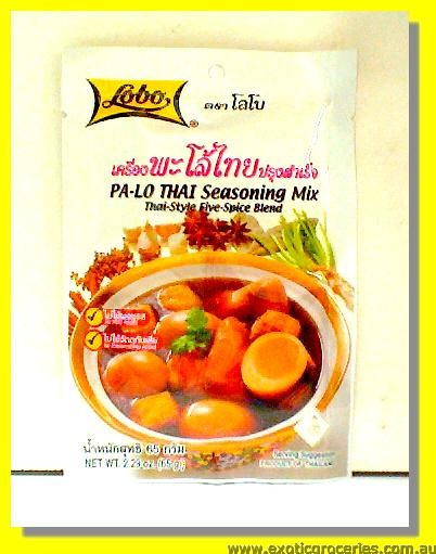 Pa Lo Thai Seasoning Mix Thai Style Five Spice Blend