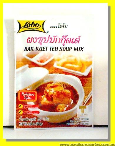 Bak Kuet The Soup Mix