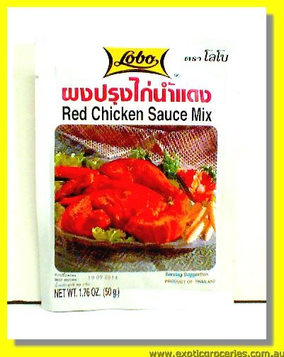 Red Chicken Sauce Mix
