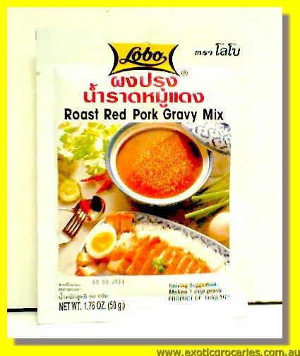 Roast Red Pork Gravy Mix