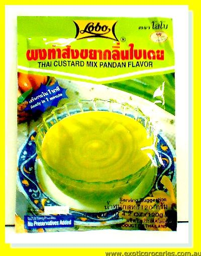 Thai Custard Mix Pandan Flavour