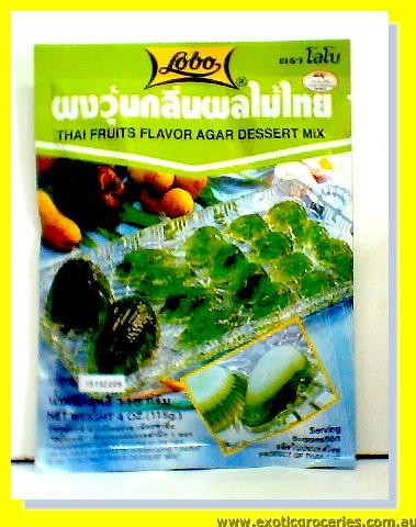 Thai Fruit Flavour Agar Dessert Mix