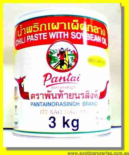 Chilli Paste with Soy Bean Oil (Medium Hot)