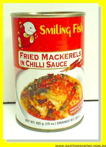 Fried Mackerels in Chilli Sauce