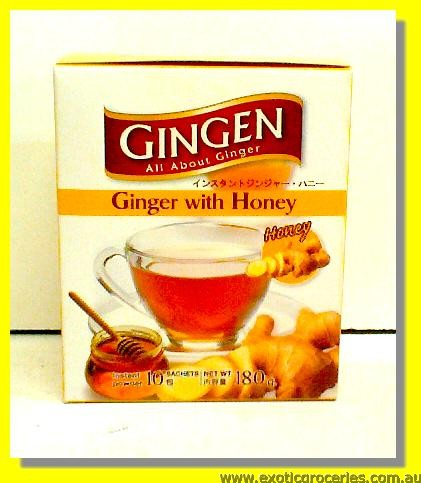 Instant Ginger Drink with Honey 10sachets