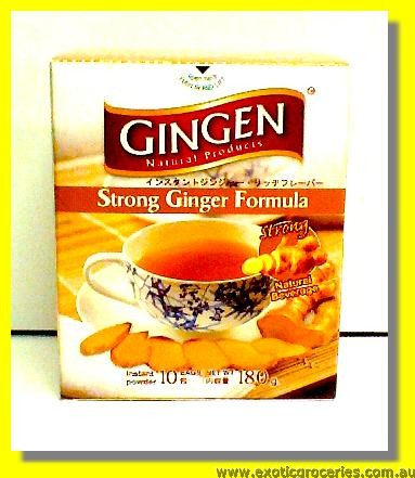 Instant Strong Ginger Drink 10sachets
